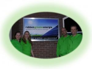 """Het """"Robben Groene Energie"""" team staat voor u klaar!"""