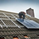 12 IBC Ecoline PolySol panelen op 2-laags montagesysteem