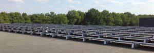 Ruim 200 panelen op bedrijfsgebouw industrieterrein Esbeek